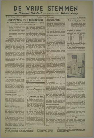 Vrije Stemmen van Schouwen-Duiveland, tevens mededeelingenblad Militair Gezag 1945-12-18