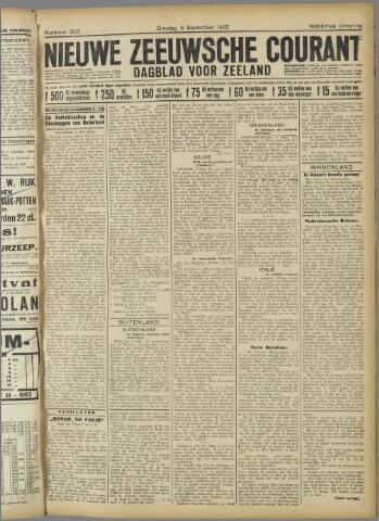Nieuwe Zeeuwsche Courant 1922-09-05