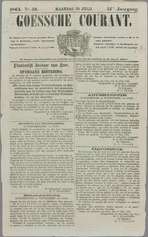 Goessche Courant 1864-07-25
