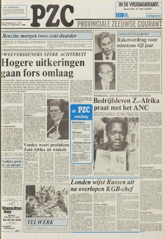 Provinciale Zeeuwse Courant 1985-09-13