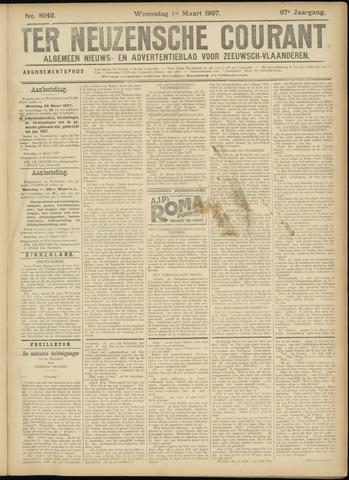 Ter Neuzensche Courant. Algemeen Nieuws- en Advertentieblad voor Zeeuwsch-Vlaanderen / Neuzensche Courant ... (idem) / (Algemeen) nieuws en advertentieblad voor Zeeuwsch-Vlaanderen 1927-03-16