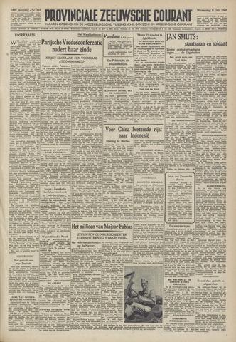 Provinciale Zeeuwse Courant 1946-10-09