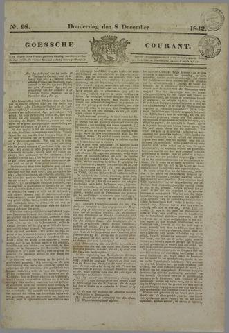 Goessche Courant 1842-12-08