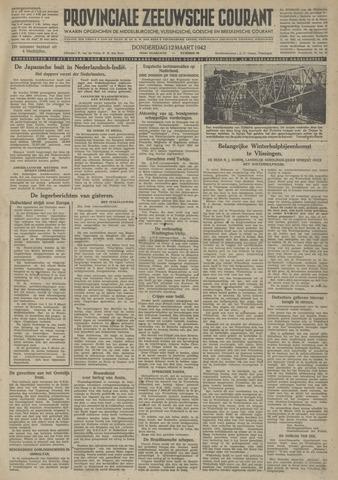 Provinciale Zeeuwse Courant 1942-03-12
