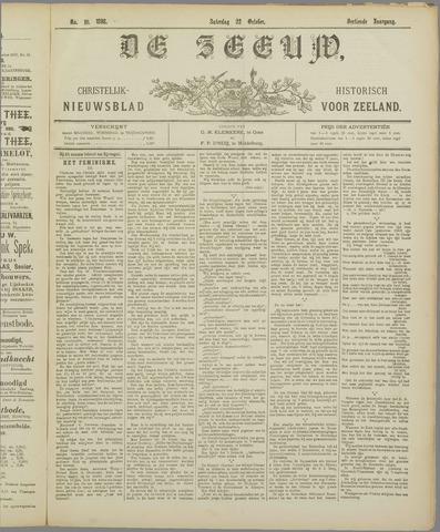 De Zeeuw. Christelijk-historisch nieuwsblad voor Zeeland 1898-10-22