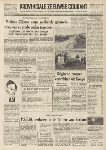 Provinciale Zeeuwse Courant 1960-07-30