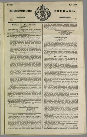 Zierikzeesche Courant 1844-02-13