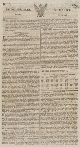 Middelburgsche Courant 1827-04-14