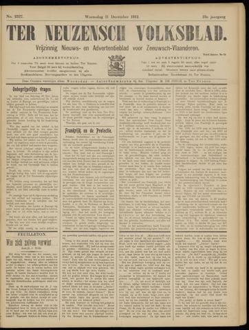 Ter Neuzensch Volksblad. Vrijzinnig nieuws- en advertentieblad voor Zeeuwsch- Vlaanderen / Zeeuwsch Nieuwsblad. Nieuws- en advertentieblad voor Zeeland 1912-12-11