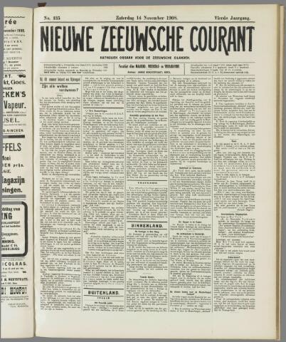 Nieuwe Zeeuwsche Courant 1908-11-14