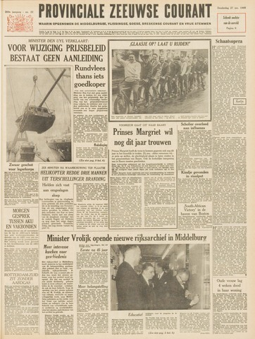 Provinciale Zeeuwse Courant 1966-01-27