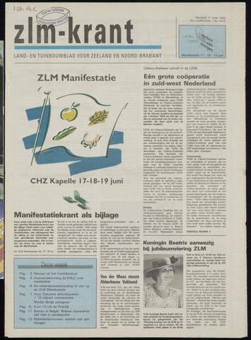 Zeeuwsch landbouwblad ... ZLM land- en tuinbouwblad 1993-06-11