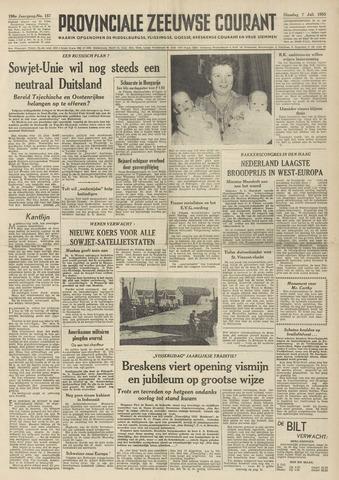 Provinciale Zeeuwse Courant 1953-07-07