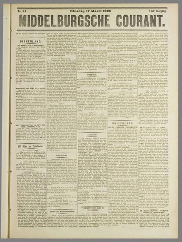 Middelburgsche Courant 1925-03-17