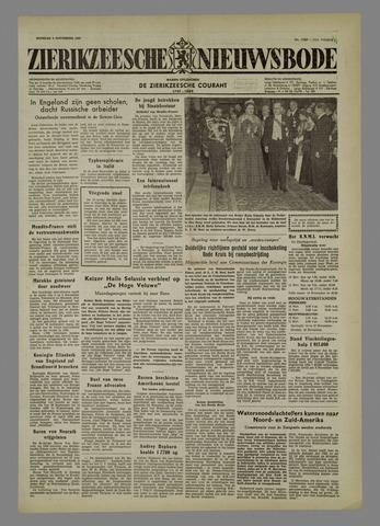 Zierikzeesche Nieuwsbode 1954-11-09
