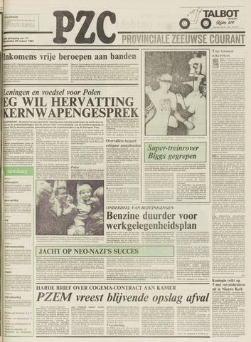 Provinciale Zeeuwse Courant 1981-03-25