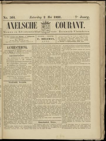 Axelsche Courant 1891-05-02