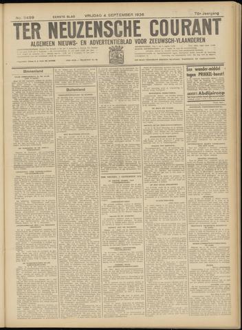 Ter Neuzensche Courant. Algemeen Nieuws- en Advertentieblad voor Zeeuwsch-Vlaanderen / Neuzensche Courant ... (idem) / (Algemeen) nieuws en advertentieblad voor Zeeuwsch-Vlaanderen 1936-09-04