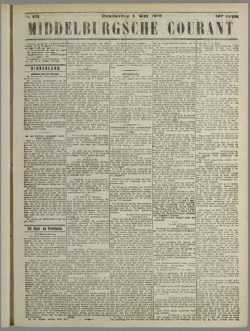 Middelburgsche Courant 1919-05-01