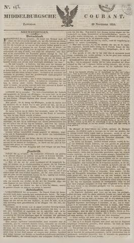 Middelburgsche Courant 1834-11-29