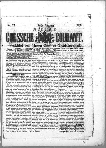 Nieuwe Goessche Courant 1868-12-24