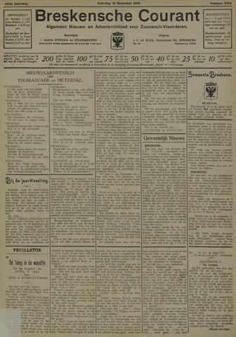 Breskensche Courant 1932-12-31