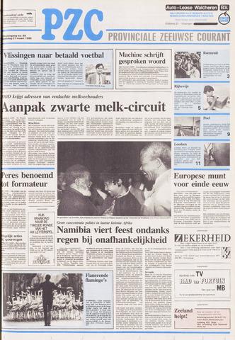 Provinciale Zeeuwse Courant 1990-03-21