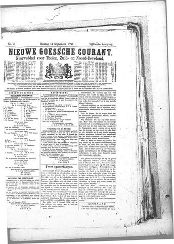 Nieuwe Goessche Courant 1880-09-14