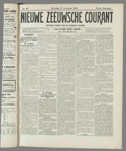 Nieuwe Zeeuwsche Courant 1908-08-22