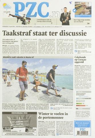 Provinciale Zeeuwse Courant 2009-04-29