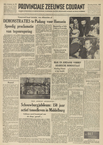 Provinciale Zeeuwse Courant 1958-02-15