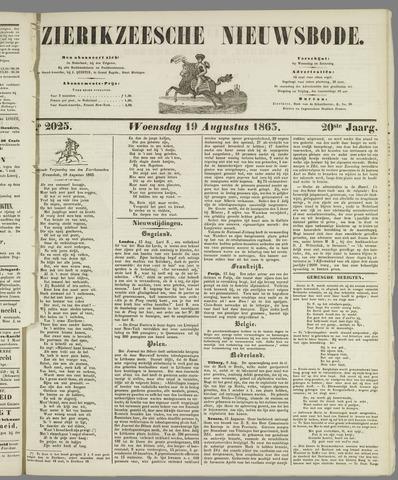 Zierikzeesche Nieuwsbode 1863-08-19