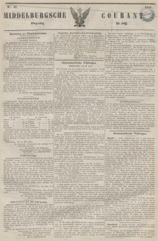 Middelburgsche Courant 1851-07-22