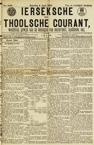 Ierseksche en Thoolsche Courant 1907-04-06