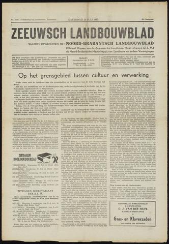 Zeeuwsch landbouwblad ... ZLM land- en tuinbouwblad 1953-07-25