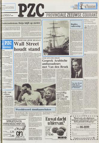 Provinciale Zeeuwse Courant 1988-01-12