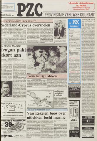 Provinciale Zeeuwse Courant 1987-11-21