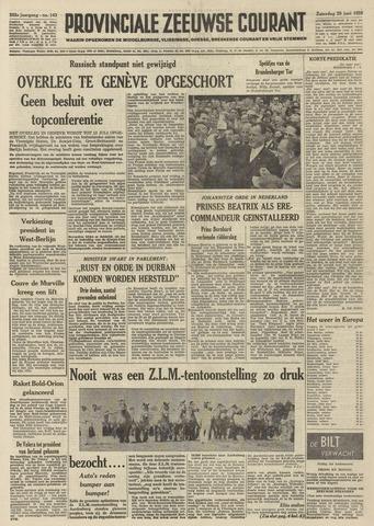 Provinciale Zeeuwse Courant 1959-06-20