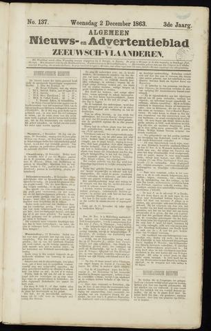 Ter Neuzensche Courant. Algemeen Nieuws- en Advertentieblad voor Zeeuwsch-Vlaanderen / Neuzensche Courant ... (idem) / (Algemeen) nieuws en advertentieblad voor Zeeuwsch-Vlaanderen 1863-12-02
