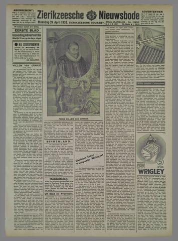 Zierikzeesche Nieuwsbode 1933-04-24