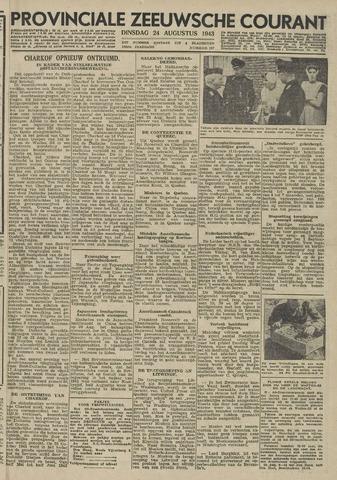Provinciale Zeeuwse Courant 1943-08-24