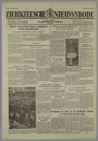 Zierikzeesche Nieuwsbode 1958-02-28