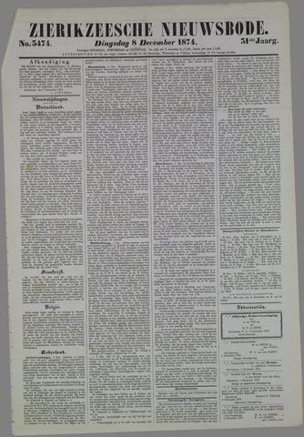 Zierikzeesche Nieuwsbode 1874-12-08