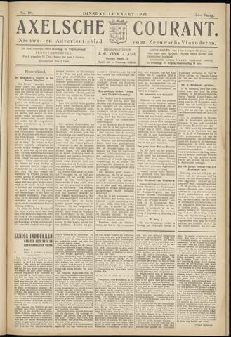 Axelsche Courant 1939-03-14