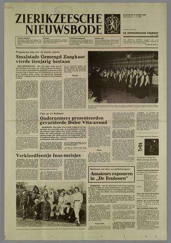 Zierikzeesche Nieuwsbode 1984-04-19