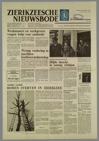 Zierikzeesche Nieuwsbode 1974-02-19