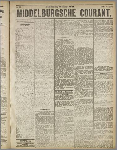 Middelburgsche Courant 1921-03-03