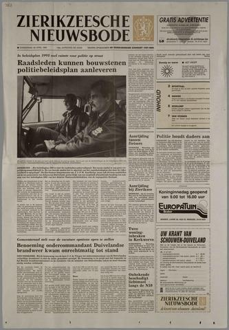 Zierikzeesche Nieuwsbode 1993-04-29