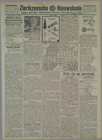 Zierikzeesche Nieuwsbode 1932-04-08