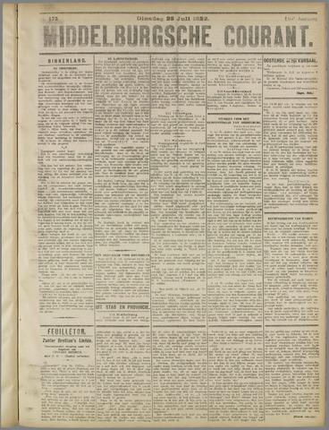 Middelburgsche Courant 1922-07-25